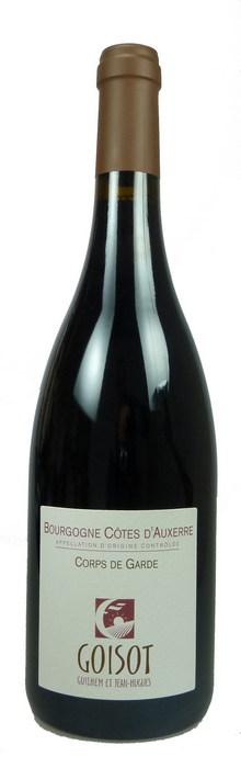 Cuvée Corps de Garde Bourgogne Côtes d'Auxerre Pinot Noir bio 2014
