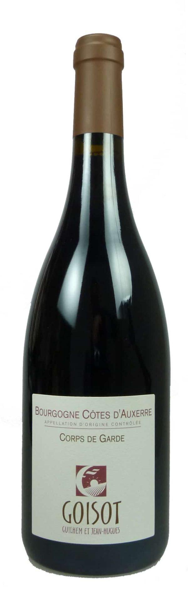 Cuvée Corps de Garde Bourgogne Côtes d'Auxerre Pinot Noir  2015