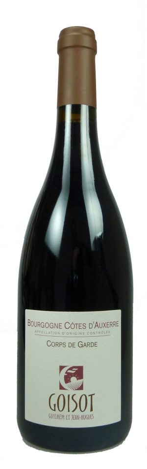 Cuvée Corps de Garde Bourgogne Côtes d'Auxerre Pinot Noir  2017