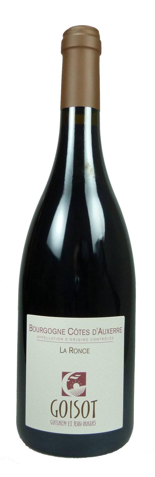 La Ronce Bourgogne Côtes d'Auxerre 2014