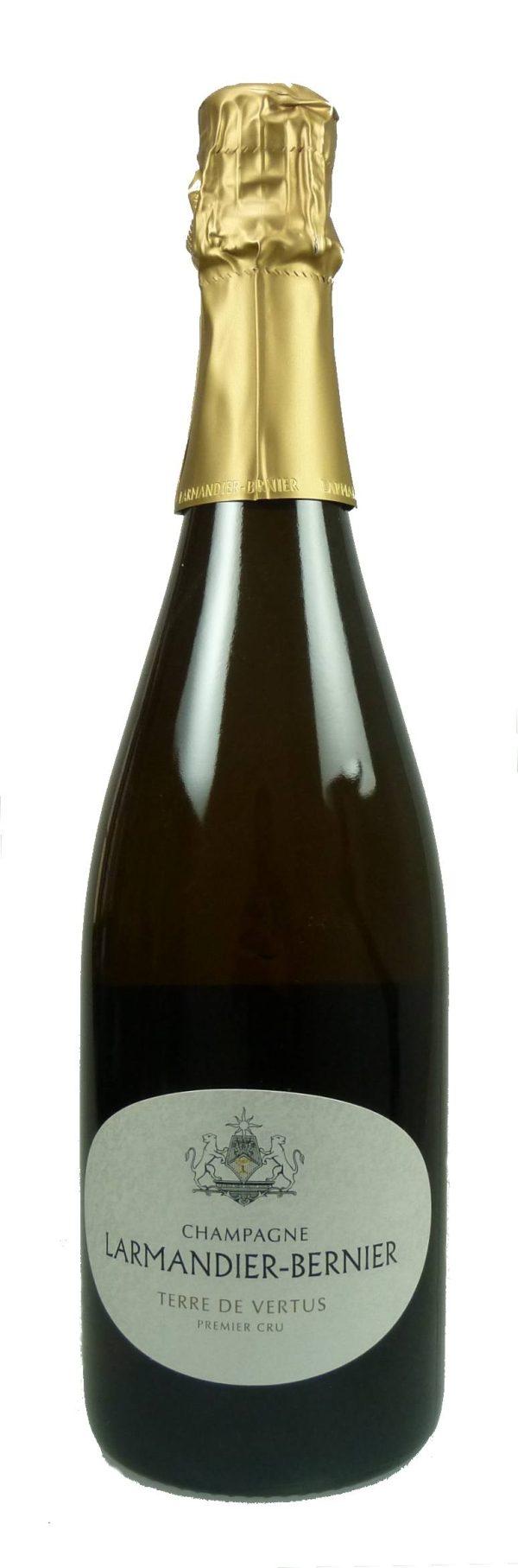 Terre de Vertus Champagne Blanc de Blancs Non Dosé Premier Cru 2010