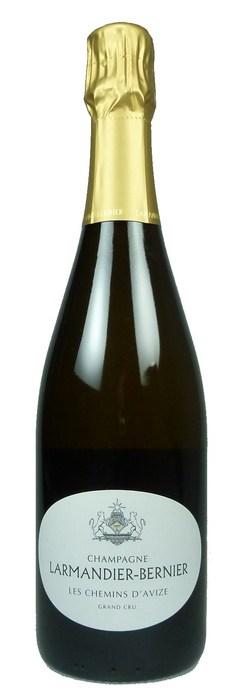 Champagne Les Chemins d'Avize Grand Cru  Blanc de Blancs Extra Brut 2010