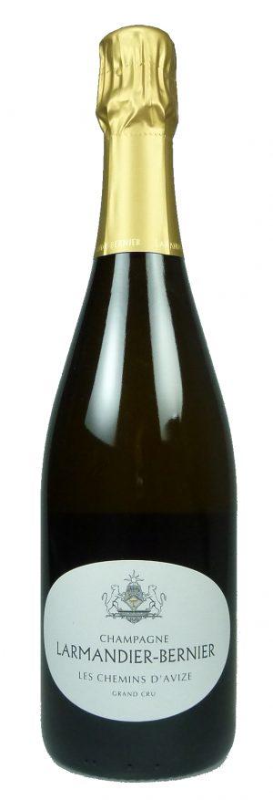 Champagne Les Chemins d'Avize Grand Cru Blanc de Blancs Extra Brut 2011