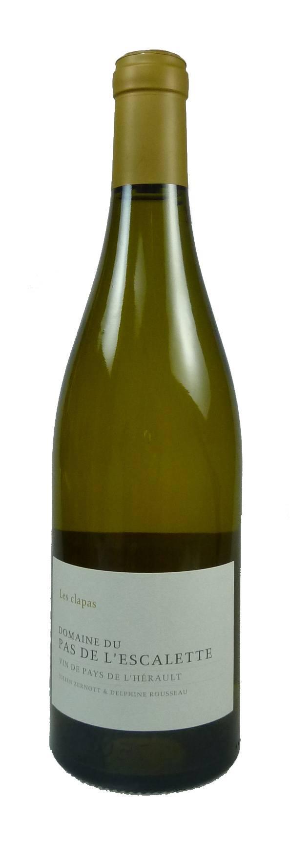 Les Clapas blanc Vin de Pays de l'Hérault 2016