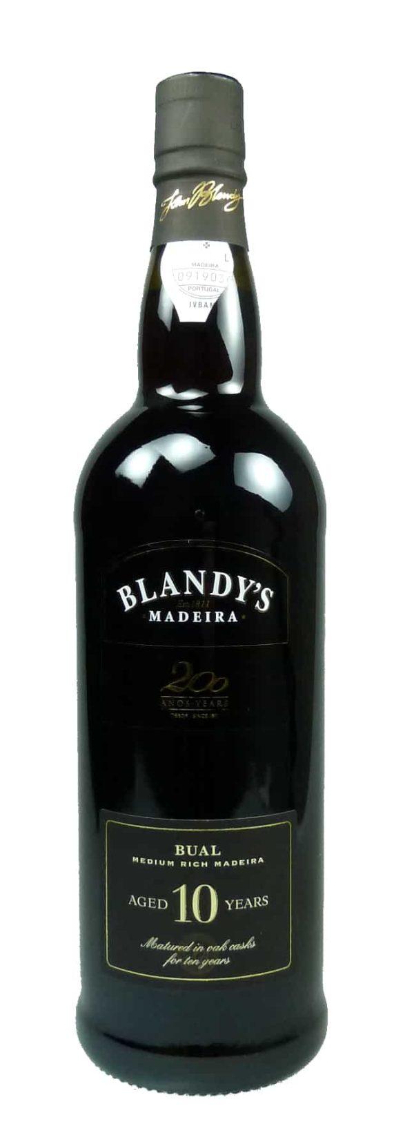 Bual Medium rich Blandy's 10 Jahre alt