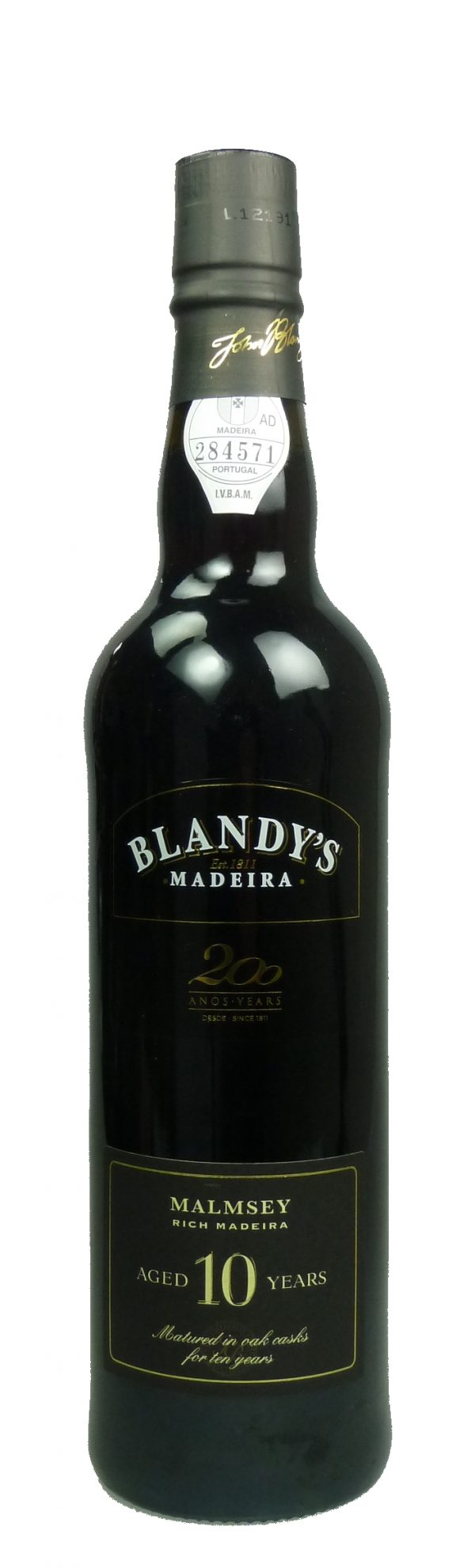 Malmsey rich Blandy's 10 Jahre alt