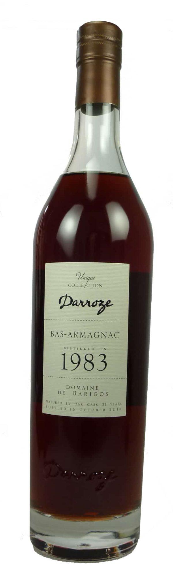 Bas Armagnac Domaine de Barigos  1983