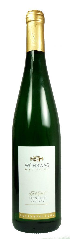 Untertürkheimer Herzogenberg Riesling Goldkapsel Qualitätswein trocken 2019