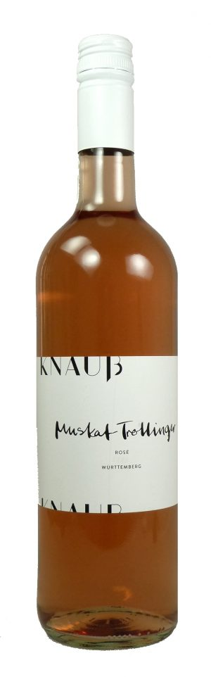 Muskattrollinger Rosé Qualitätswein  2019
