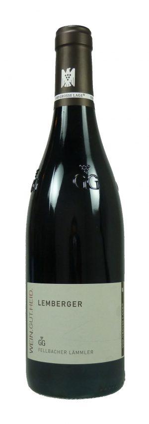 Fellbacher Lämmler Lemberger Großes Gewächs Qualitätswein trocken 2018
