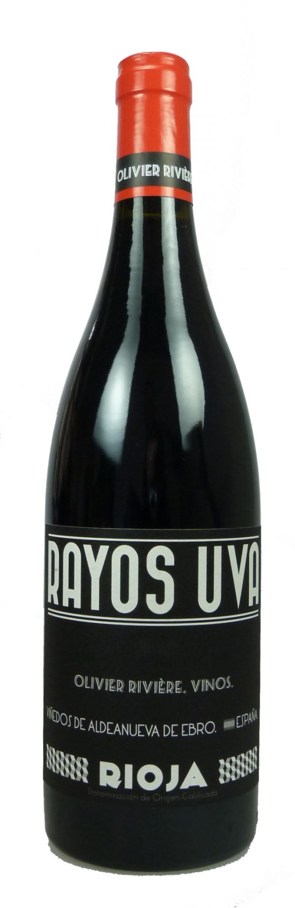 6 Flaschen 2019 Rioja Rayos Uva