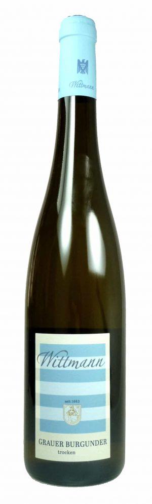 6 Flaschen 2019 Grauburgunder Qualitätswein trocken