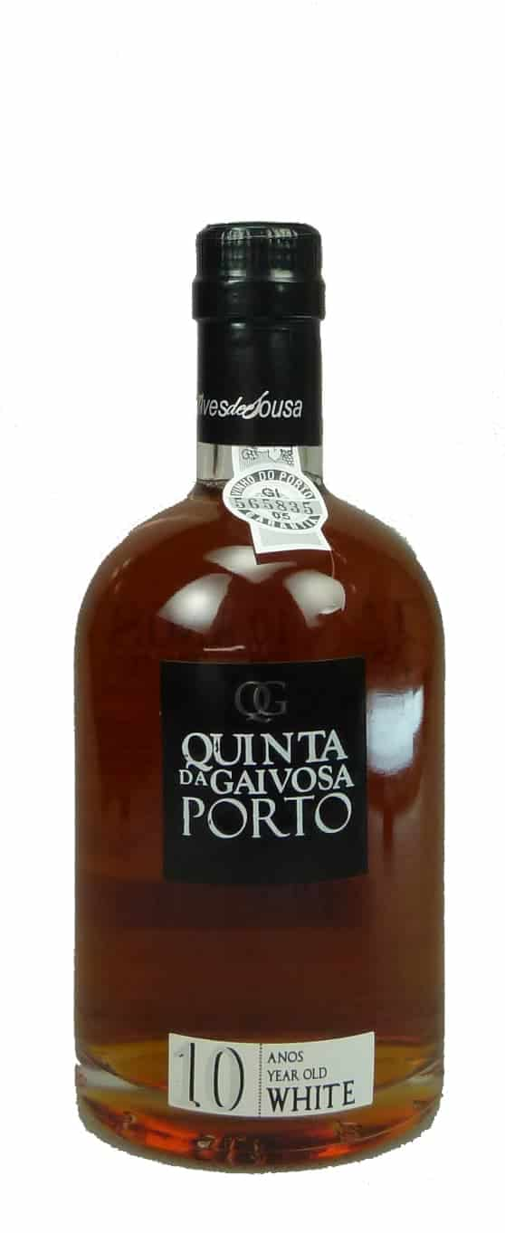 6 Flaschen Quinta da Gaivosa White Port 10 Jahre