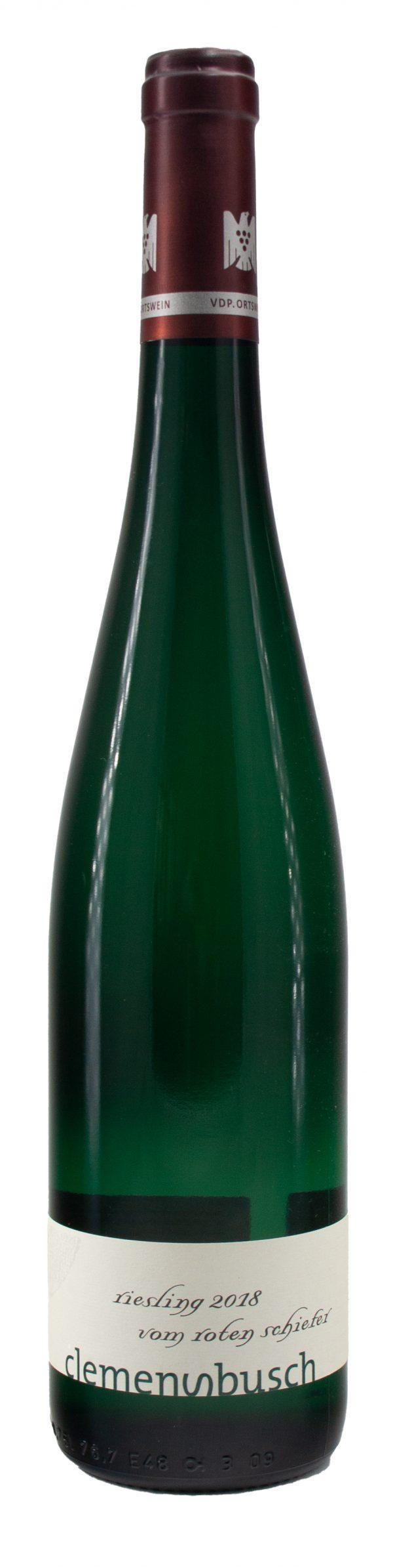6 Flaschen 2018 Vom roten Schiefer Riesling Qualitätswein