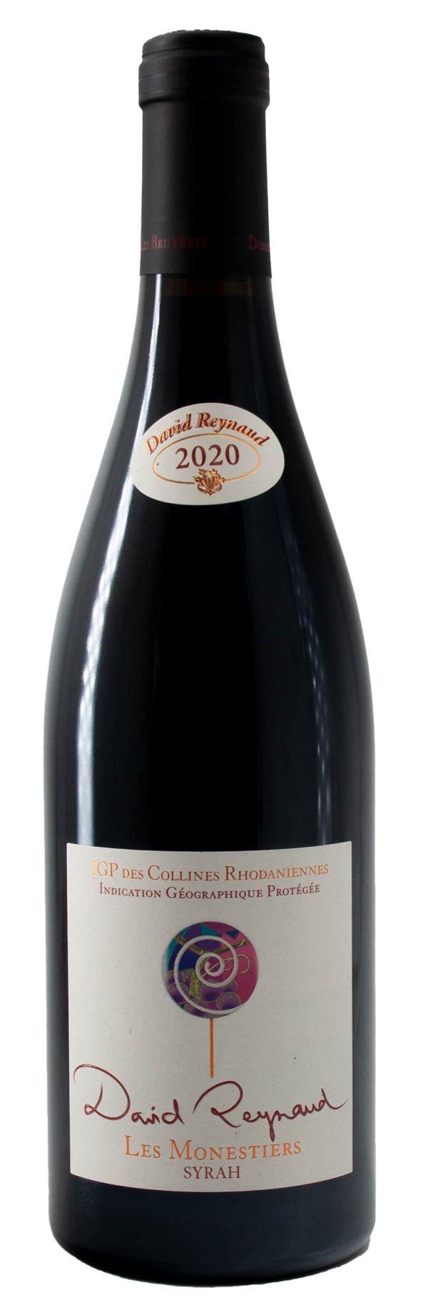 6 Flaschen 2020 Les Monestiers Syrah
