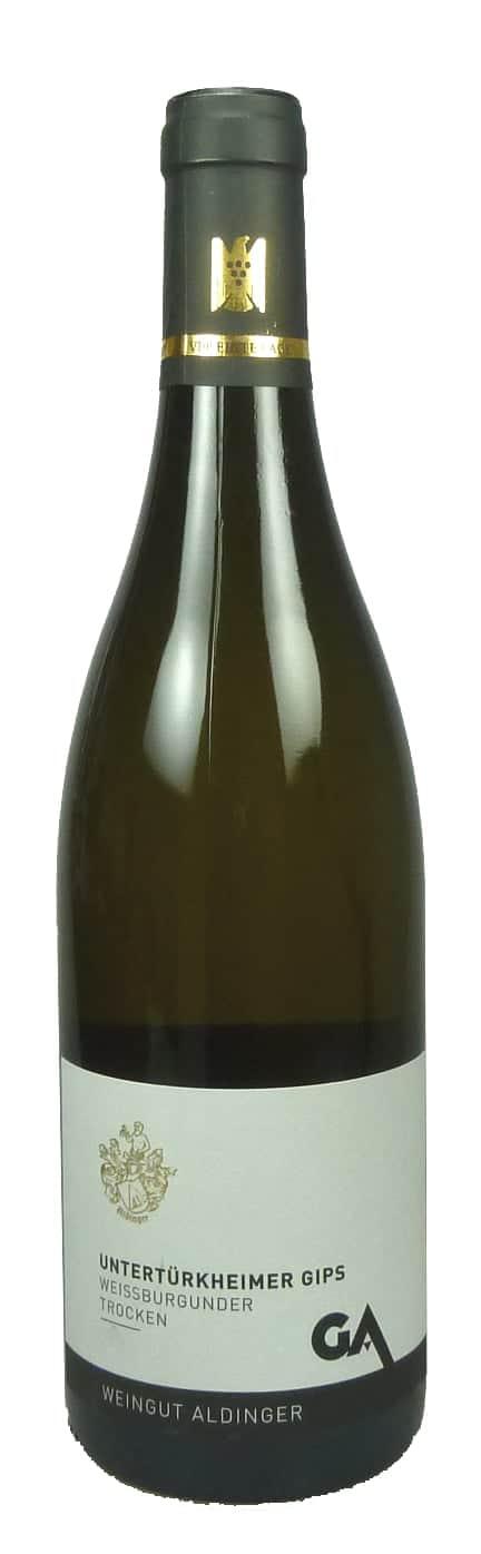 6 Flaschen 2020 Untertürkheimer Gips Weißburgunder